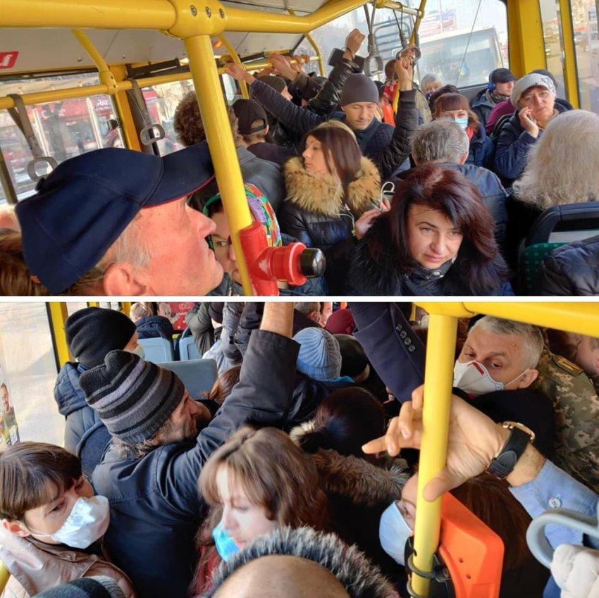 Так виглядає транспорт під час карантину в Києві