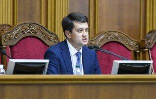 Голова Верховної Ради здав тест на коронавірус