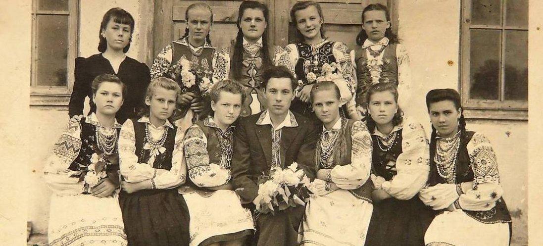 Волиняни на ретрофото початку ХХ століття