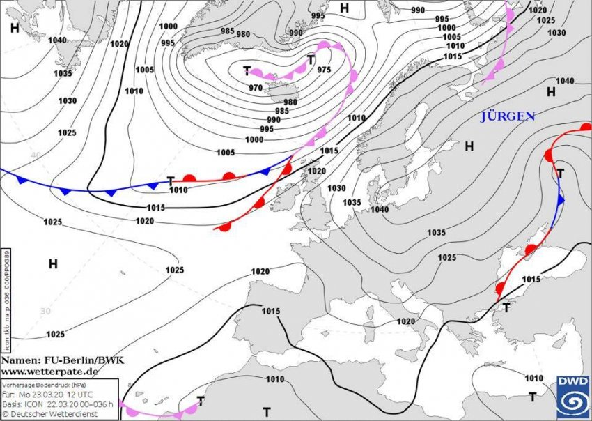 Погода в Україні 23 березня