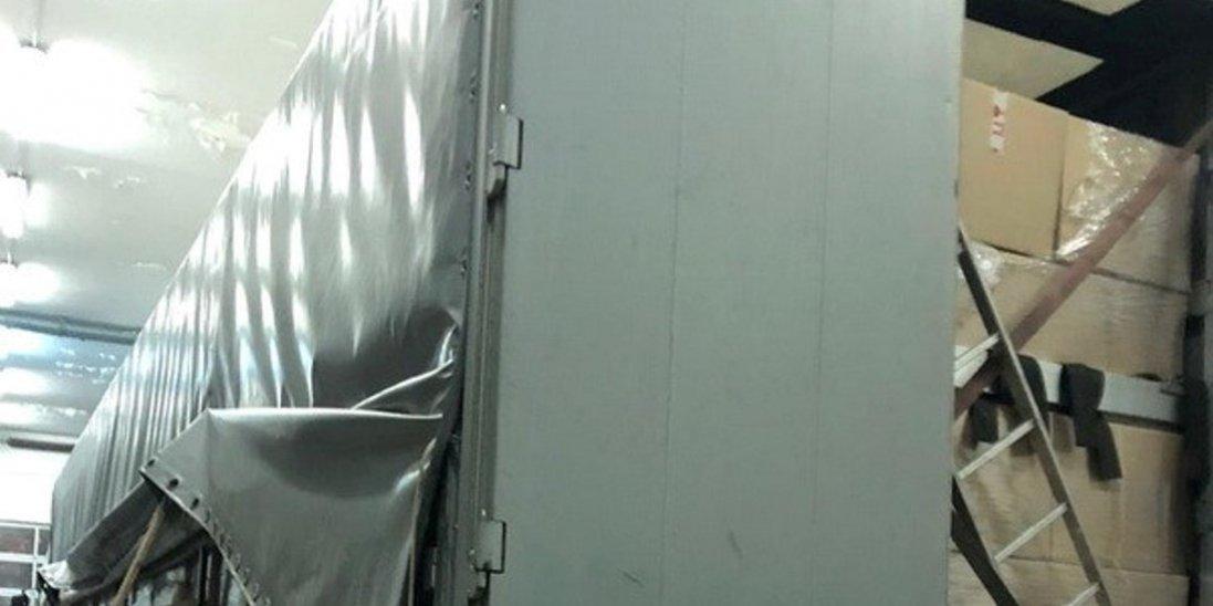 На Ягодині затримали контрабанду 40 тисяч медичних халатів