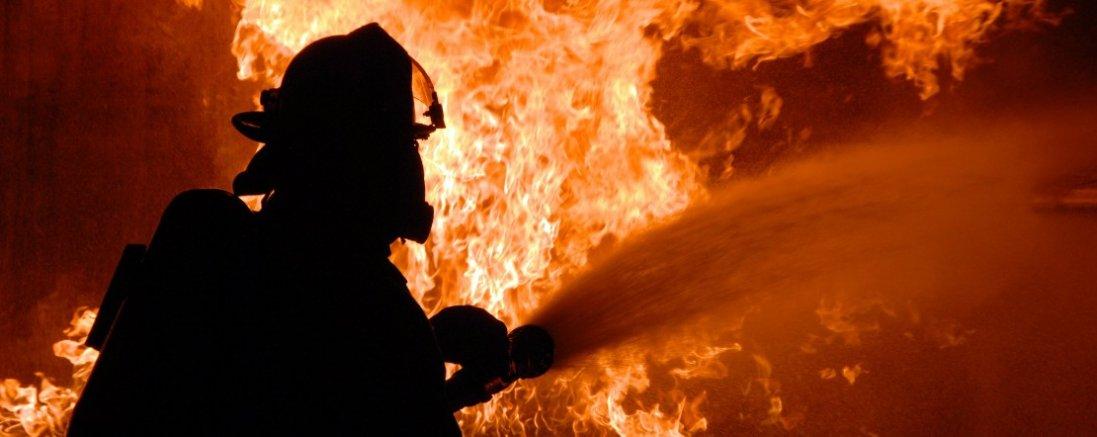 У Луцьку - пожежа на Гнідавському болоті