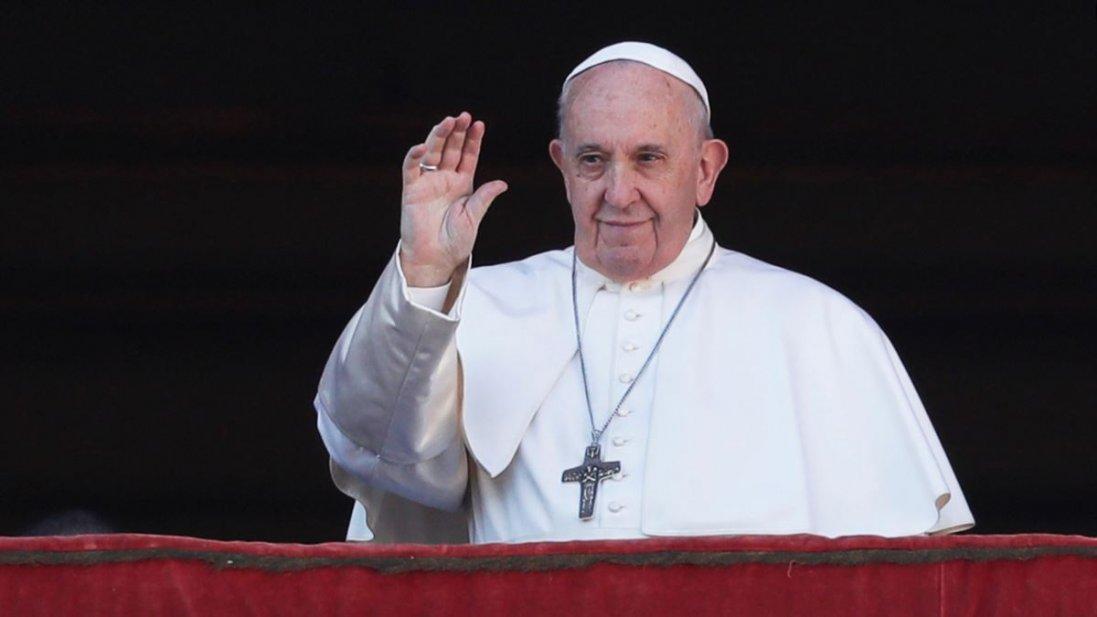 Молитва Папи Римського за припинення пандемії коронавірусу