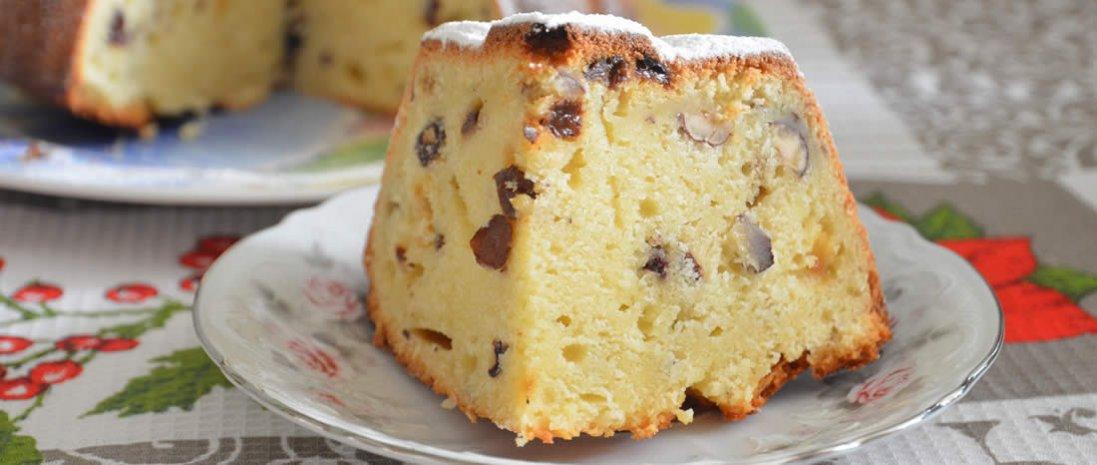 Кекс на кефірі: простий і смачний рецепт