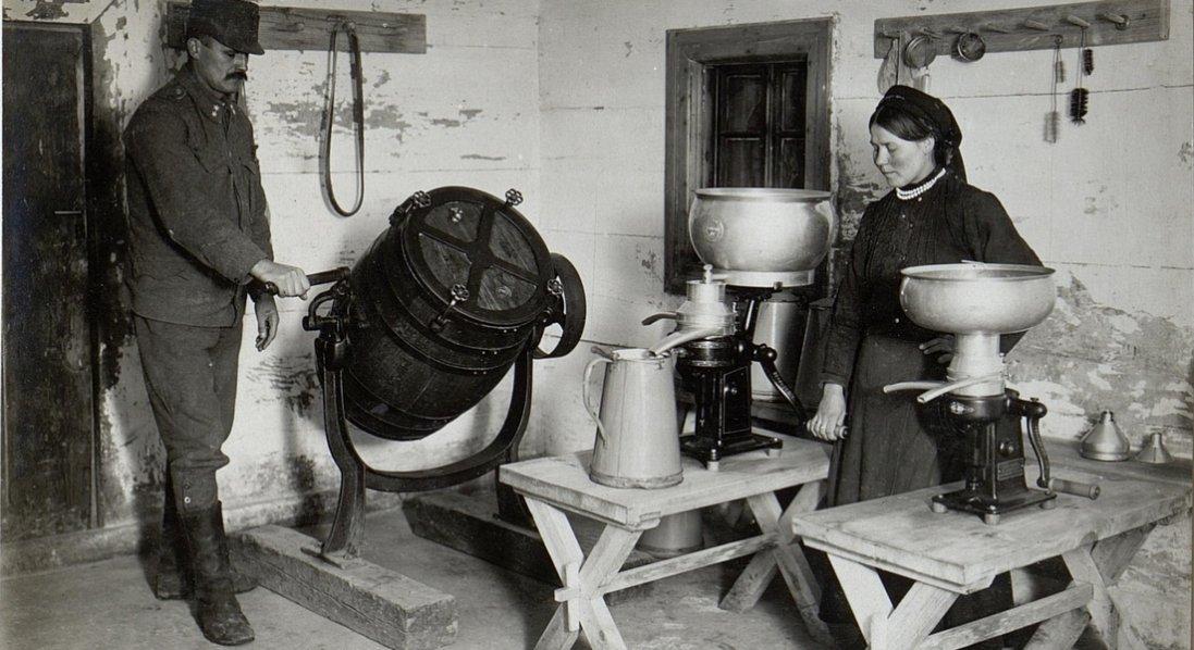 Ферма та сироварня на Волині на 100-літніх ретрофото