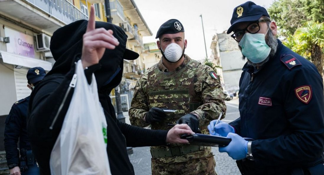 За добу поліцейські виписали 150 протоколів за порушення карантину