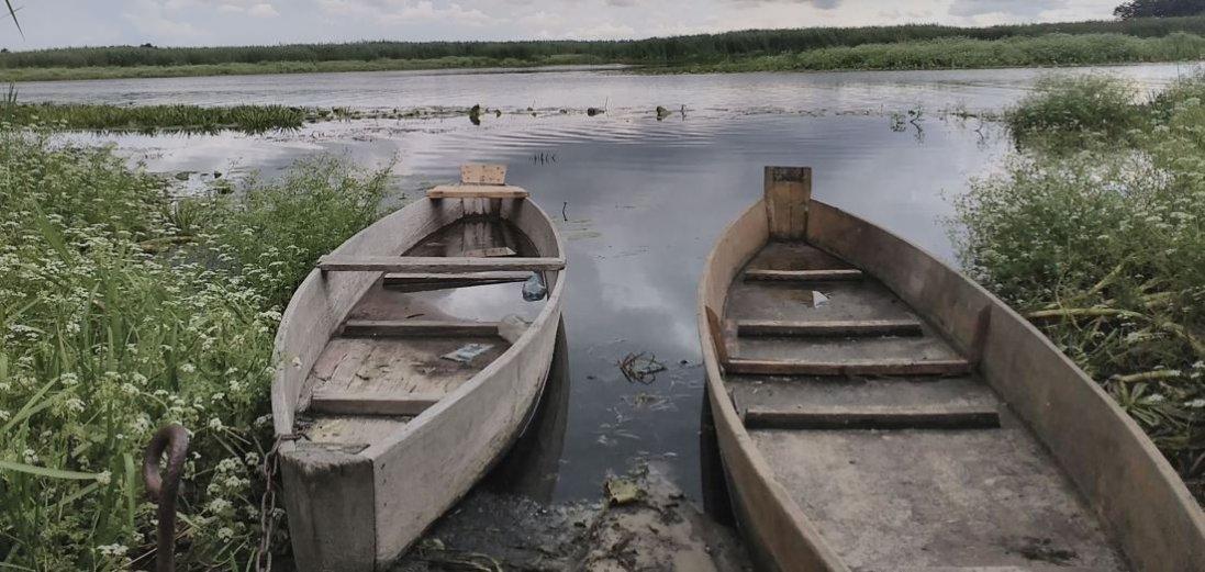 На Волині перекинувся човен із рибалкою