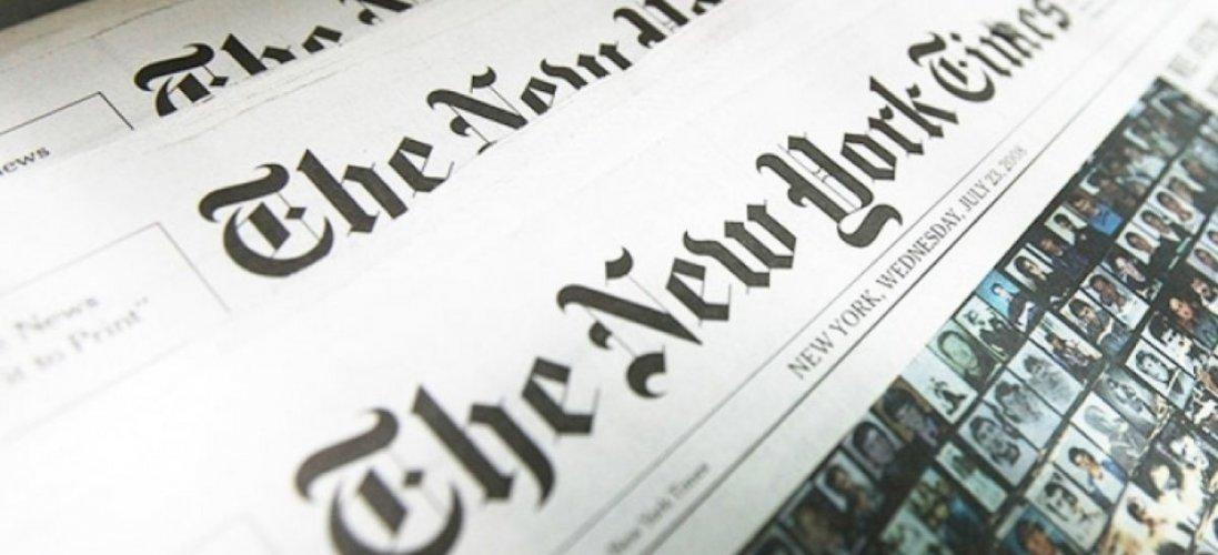 На мапі коронавірусу від The New York Times Крим – російський