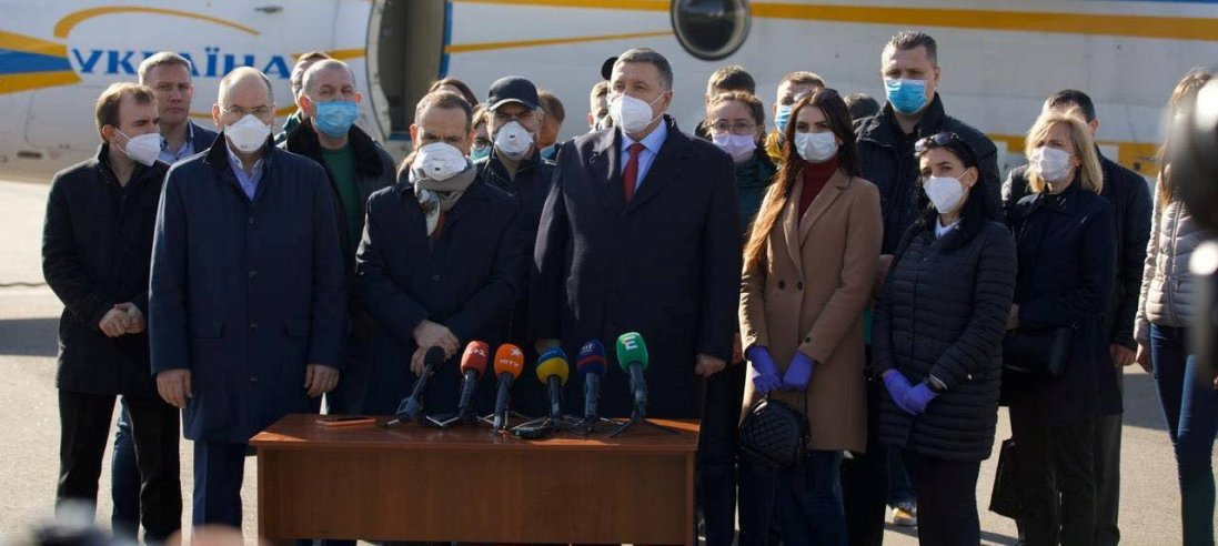 В Італію на допомогу лікарям полетіли 20 українських медиків