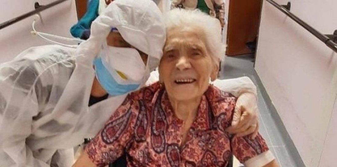 В Італії від коронавірусу одужала 104-річна жінка
