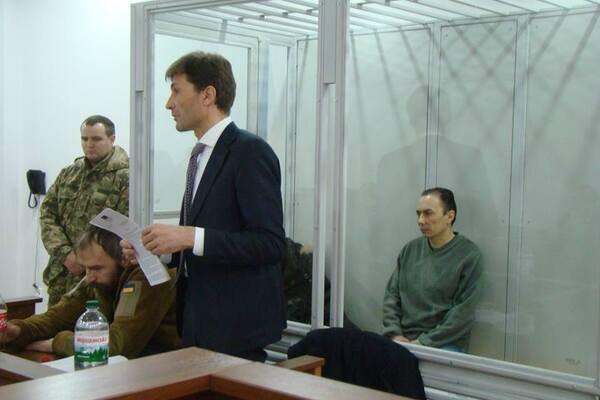 Іван Без'язиков на суді