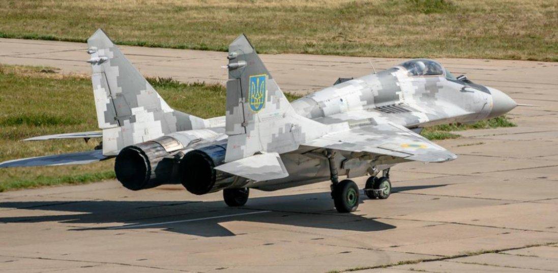 На Запоріжжі винищувач МіГ-29 з Луцька здійснив аварійну посадку