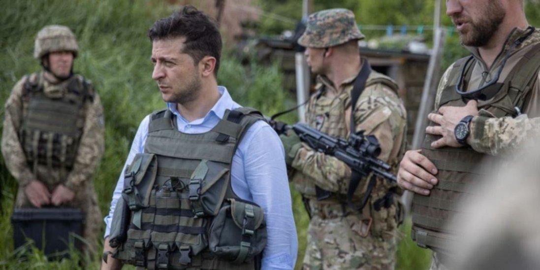 Президент України Зеленський їде на Донбас