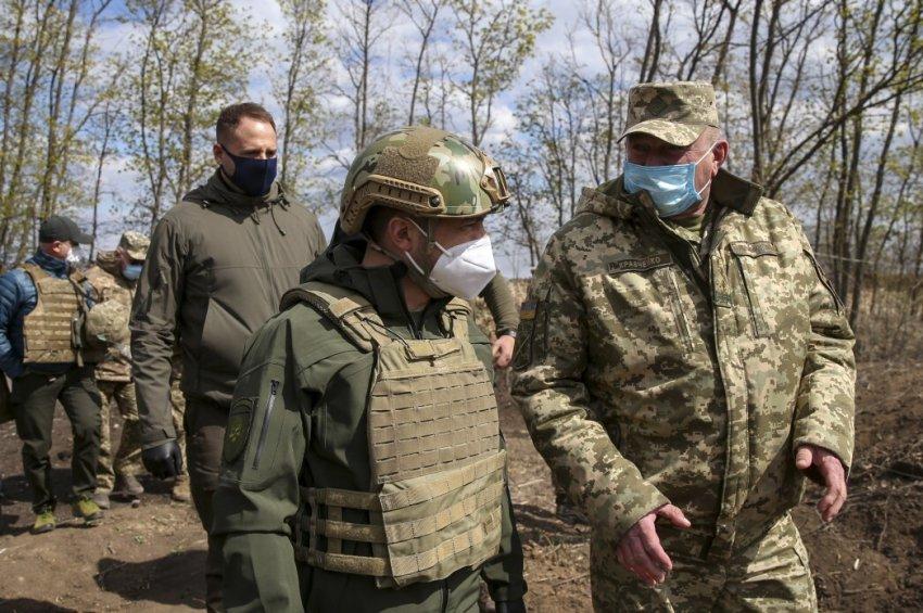 Зеленський на Донбасі