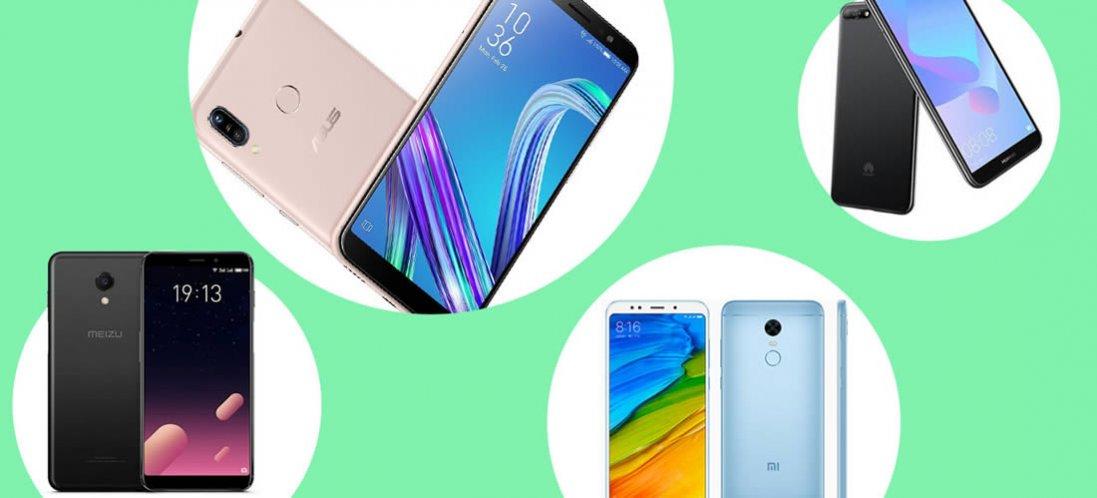 Топ бюджетних смартфонів вартістю до 6 тис. гривень