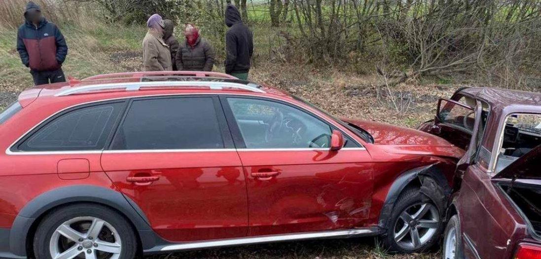 На Волині автомобіль підприємця потрапив у ДТП