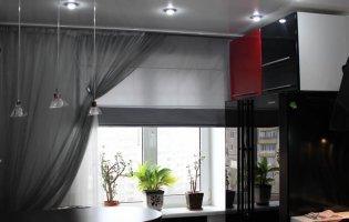 Як вибрати штори на кухню
