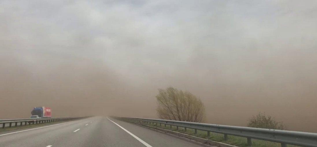 Київ накрила пилова буря