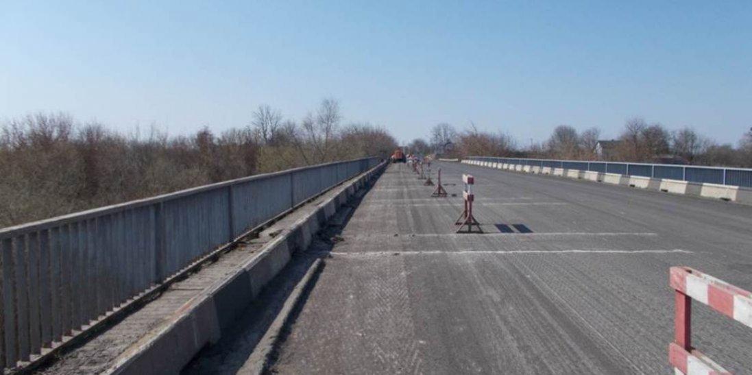 На Волині ремонтують міст через Стир