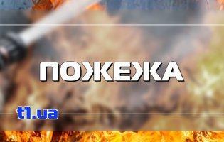У Києві - масштабна пожежа в кафе