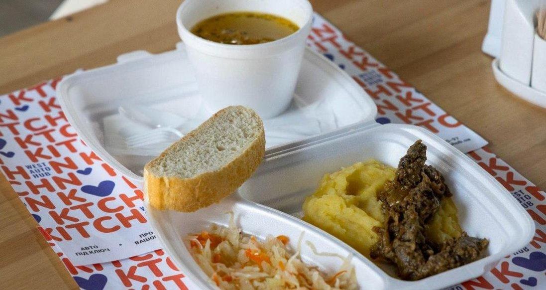 Ситна і тепла допомога волинським медикам від WEST AUTO HUB та кафе Kitchen