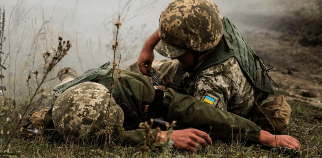 На Донбасі українські воїни зазнали втрат