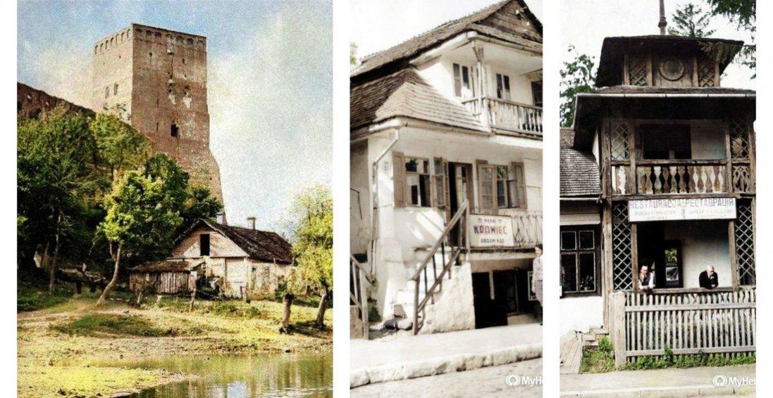Західна Україна на кольорових столітніх фото