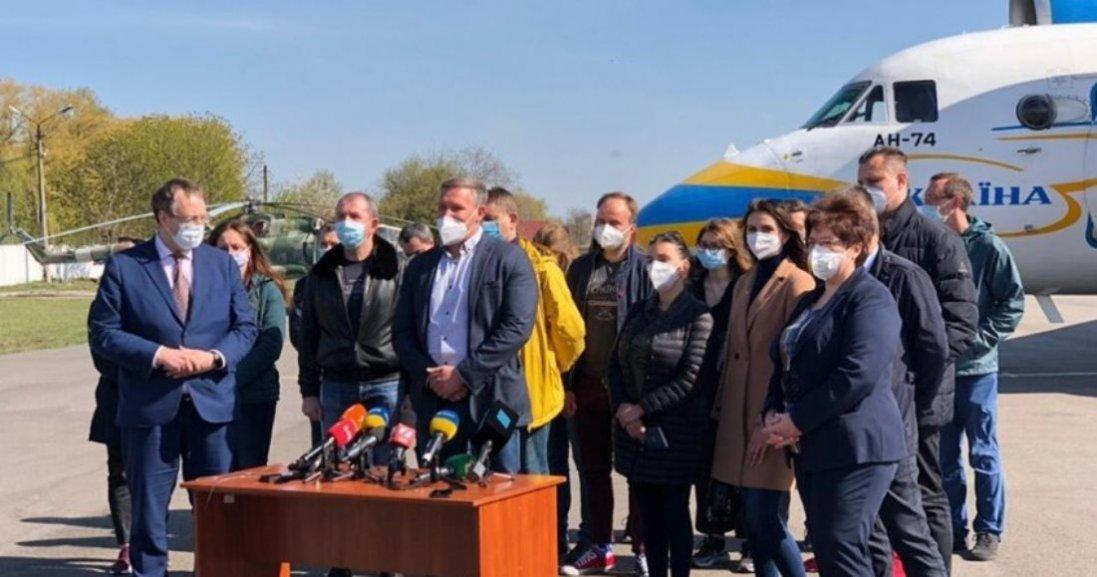 З Італії – на обсервацію: в Україну повернулися 20 лікарів