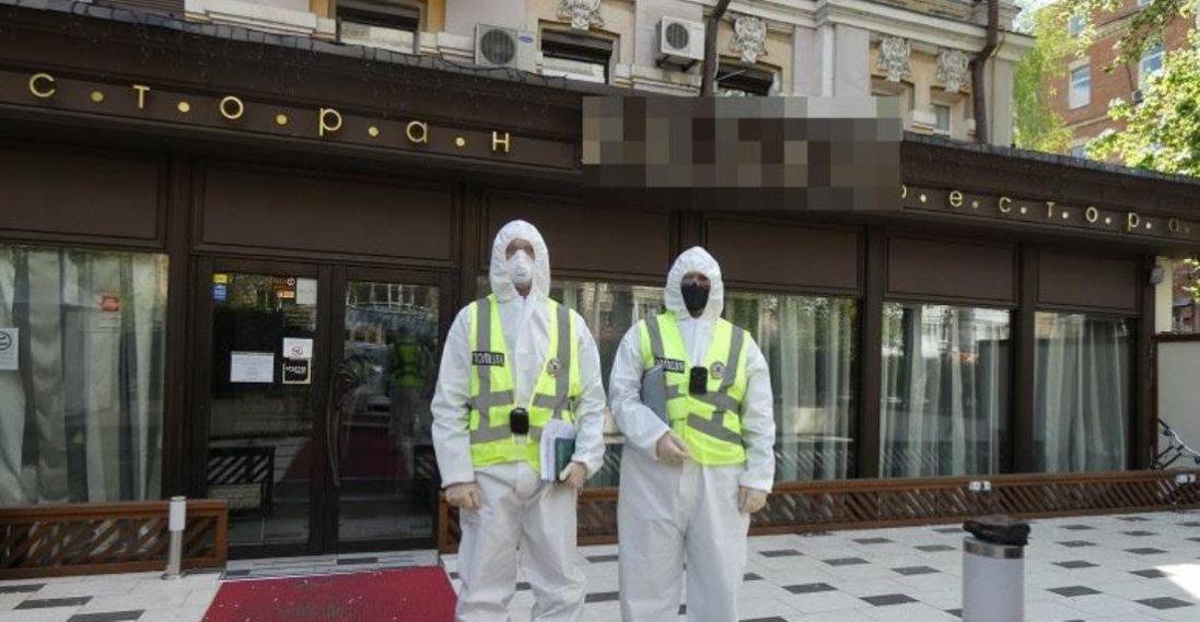 Ресторан Тищенка у Києві перевірила поліція
