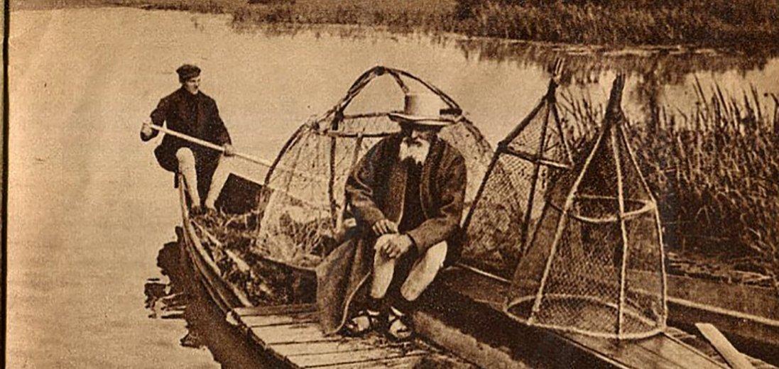 Мешканці Полісся столітніх фото