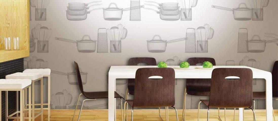 Які шпалери вибрати для кухні