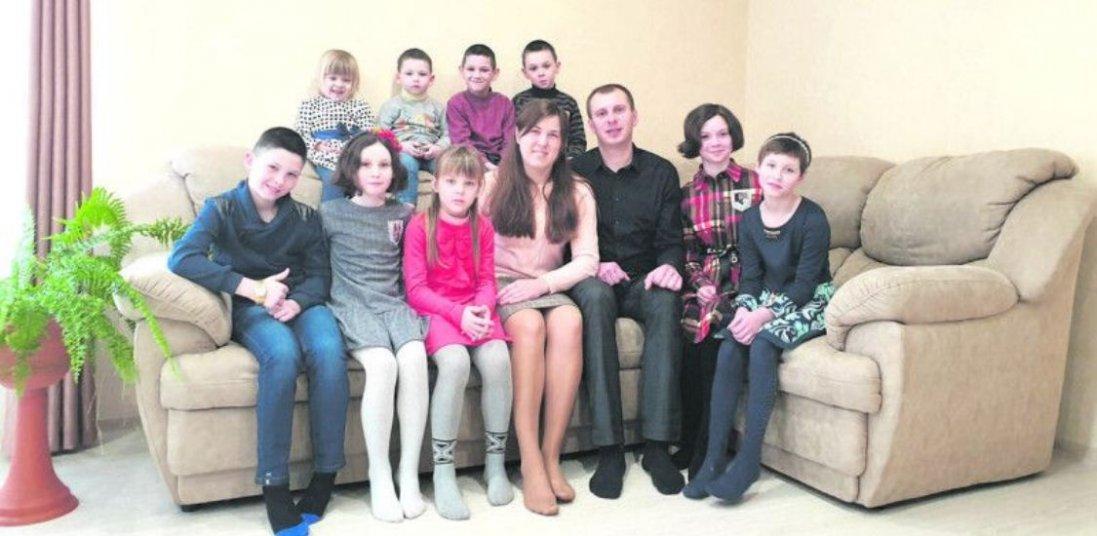 На Волині у родині виховуються майже три десятки прийомних дітей