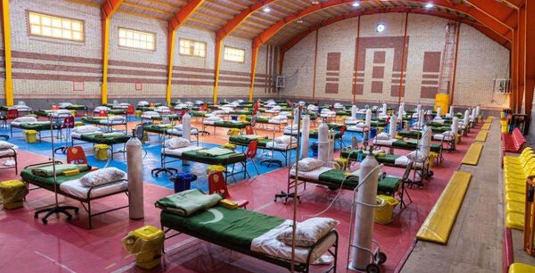 На Буковині для хворих на коронавірус приготували спортзал