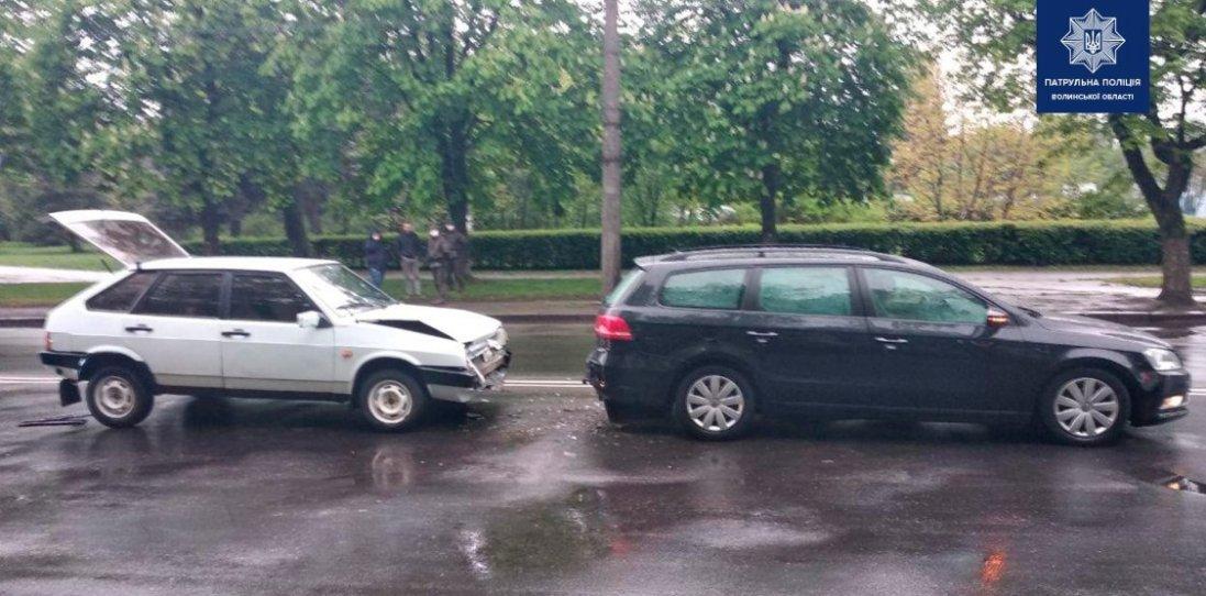 У Луцьку п'яний водій на Рівненський  спричинив ДТП