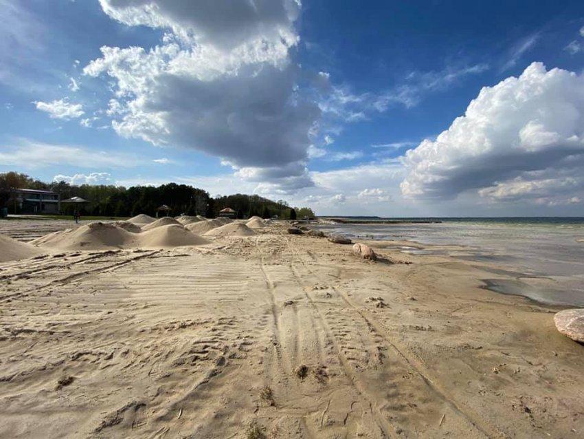 Озеро Світязь в Україні обміліло