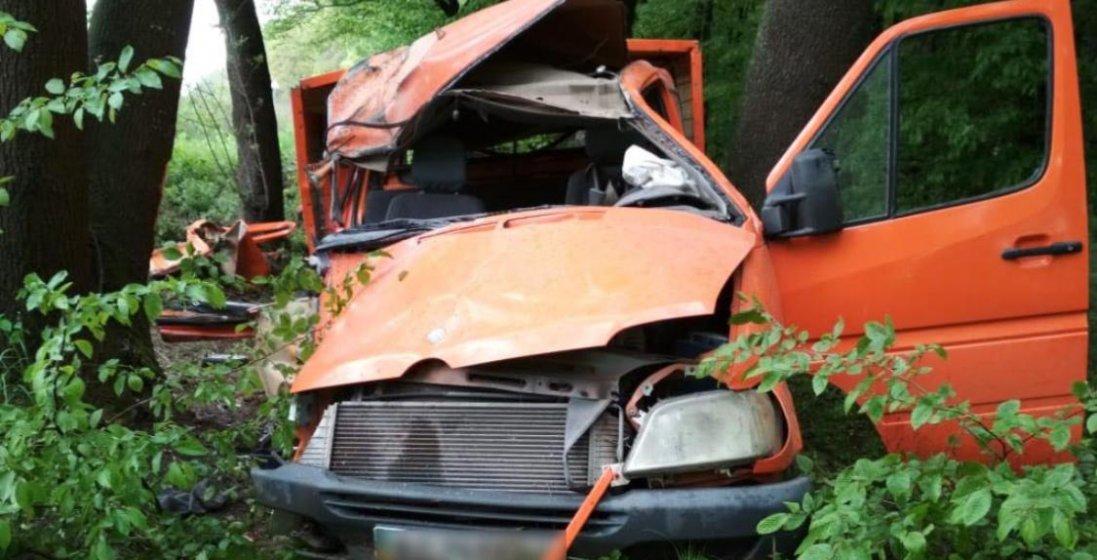 На Волині Mercedes врізався у дерево:  постраждали пасажири
