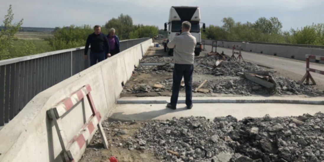 Навколо Луцька триває ремонт об'їзної дороги