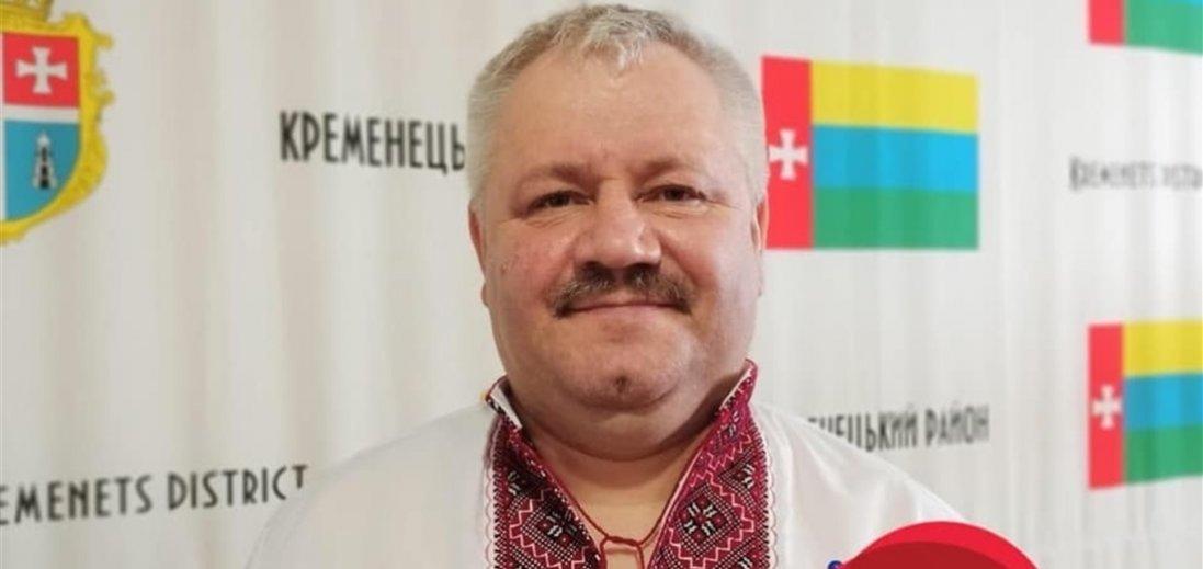 Коронавірус забрав життя голови райради на Тернопільщині