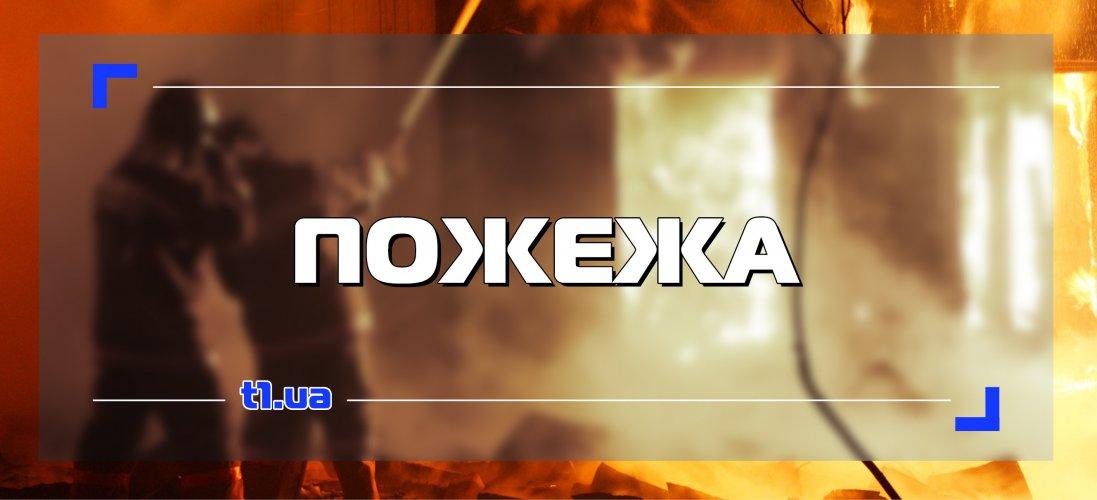 У Києві горіла лікарня, в якій рятують хворих на коронавірус