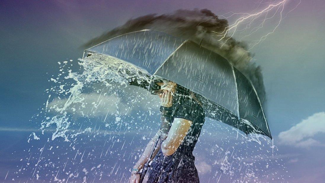 На Волині прогнозують дощ, град і грози