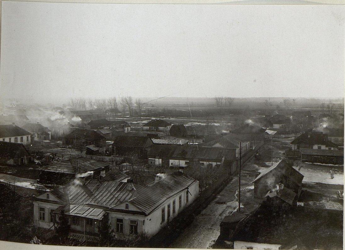 Столітні панорами Ковеля на фото