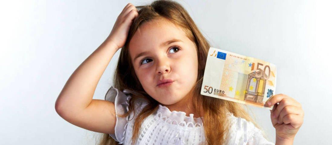 Як правильно давати дитині кишенькові гроші