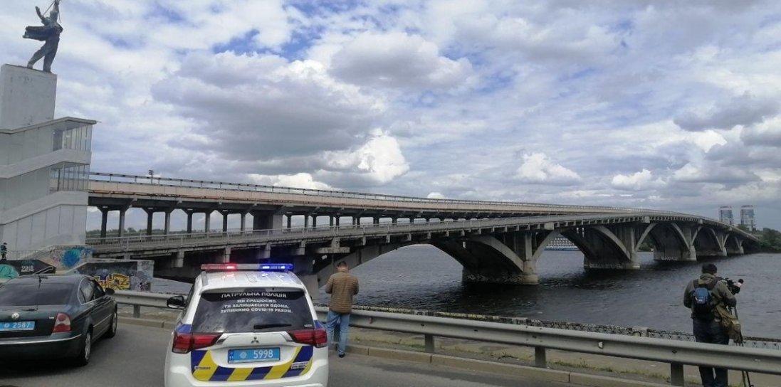 У Києві вже вдруге погрожували підірвати міст: хто і чому