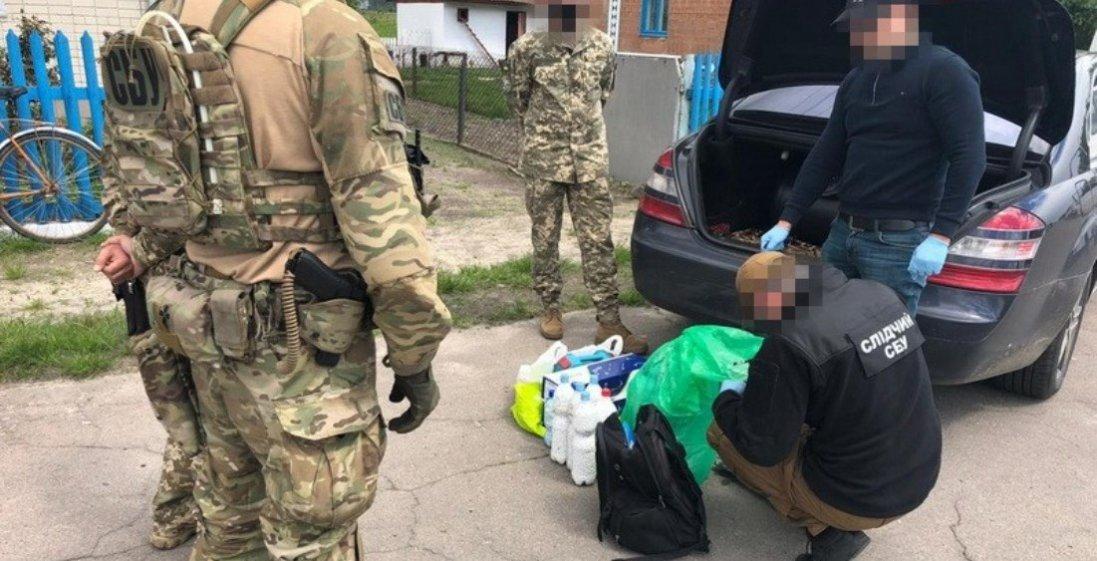 Затриману контрабанду пігулок на Ягодині перевозило подружжя наркокур'єрів