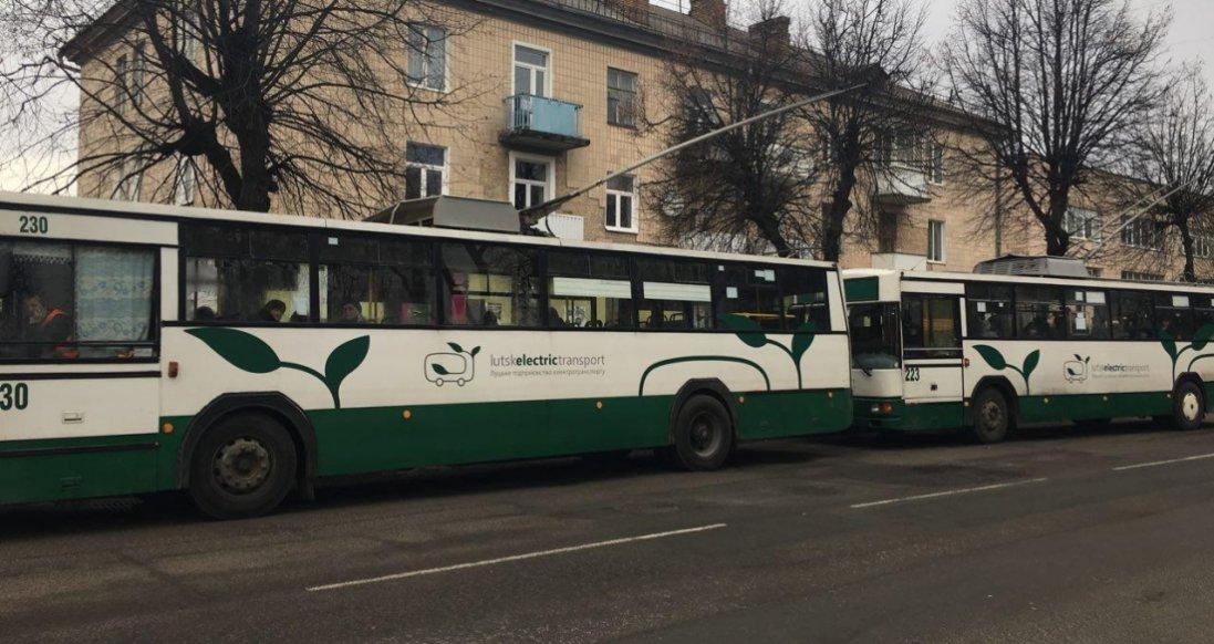 Луцьким водіям тролейбусів боргують зарплату з березня