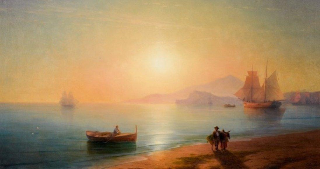 Картину Айвазовського продали за 77 мільйонів гривень
