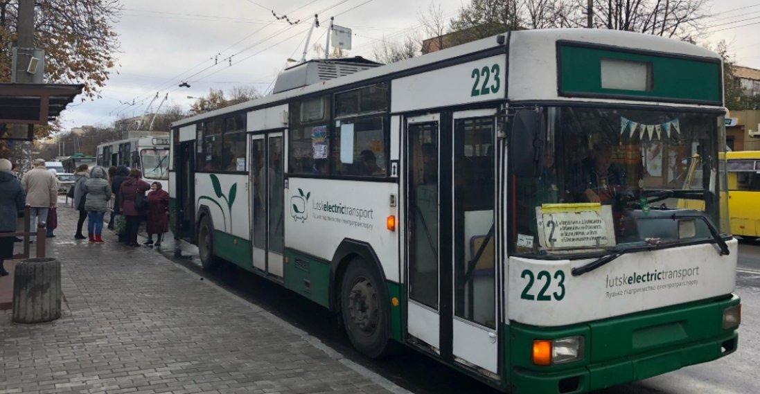 Чому в Луцьку не їздять більшість тролейбусів