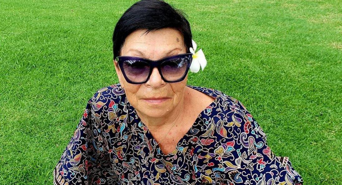 У 75 років українська бабуся стала фотомоделлю