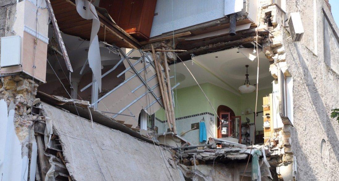 Обвал будинку в Одесі: повідомили попередню причину