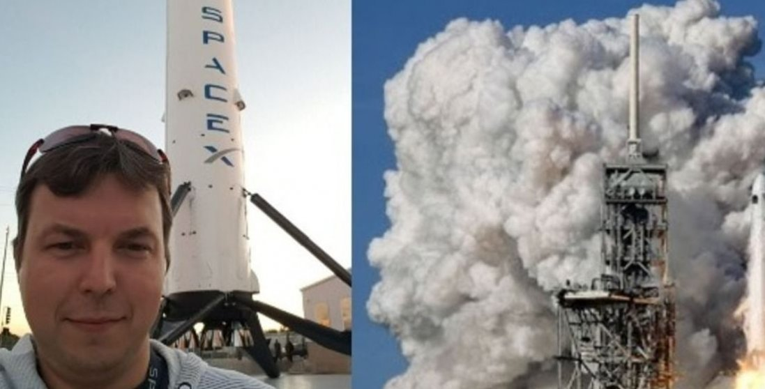 Український розробник з Житомира запустив першу приватну ракету SpaceX в космос